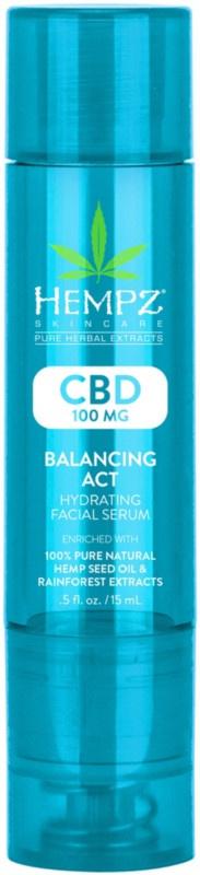 Hempz Cbd Balancing Act Hydrating Facial Serum