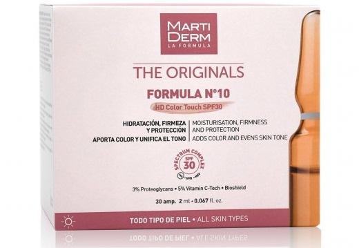 MARTIDERM Formula N°10 HD Colour Touch SPF 30