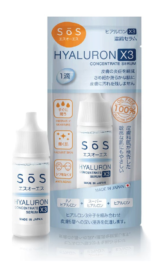 SoS Sōs Hyaluron X3 Concentrate Serum
