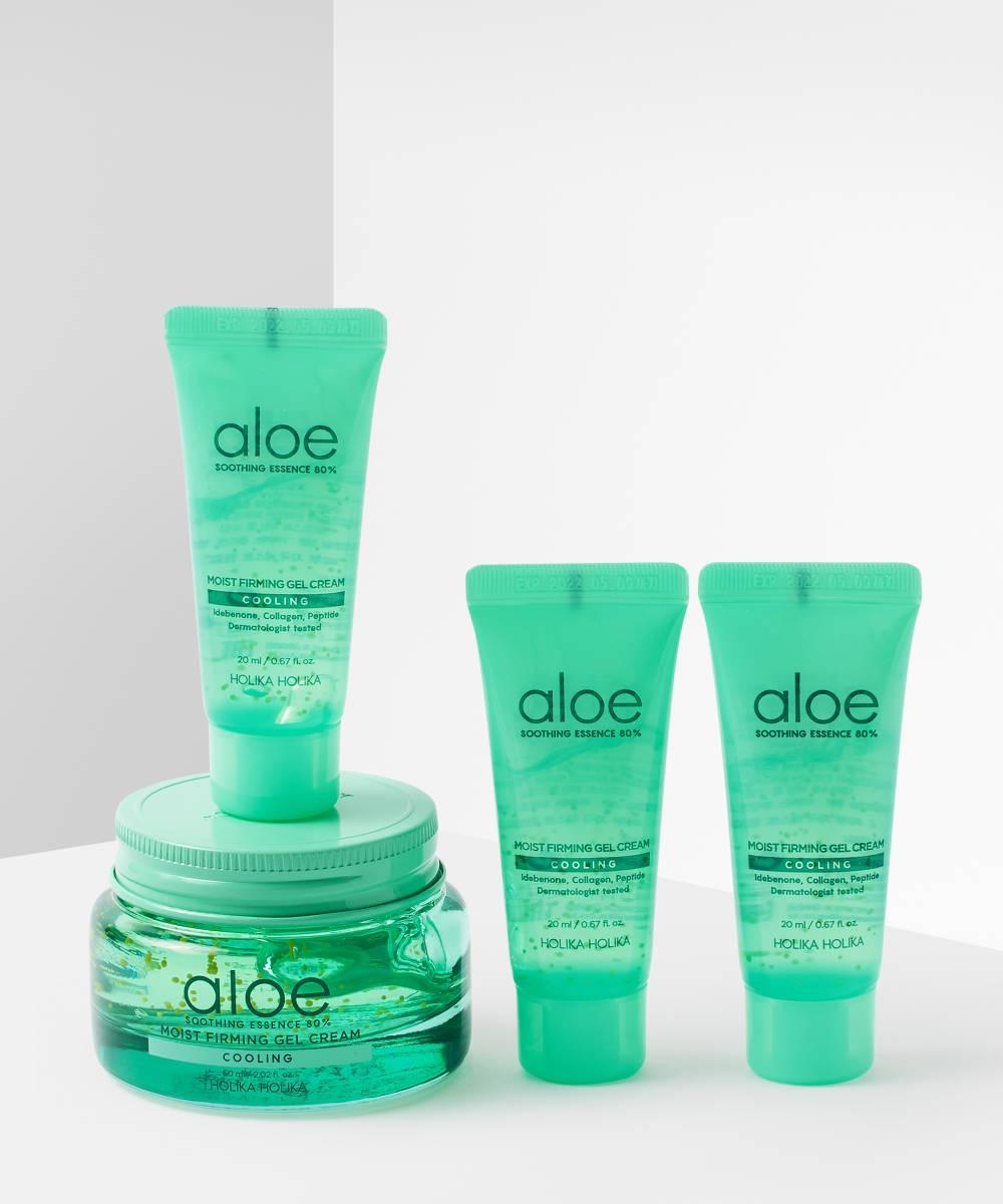 Holika Holika Aloe Soothing Essence 80% Moist Firming Gel Cream