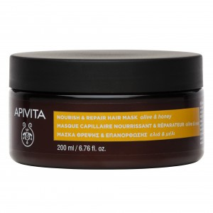 Apivita Nourish & Repair Hair Mask With Olive & Honey