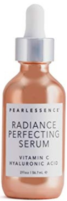 Pearlessence Vitamin C + Hyaluronic Acid Brightening Facial Serum