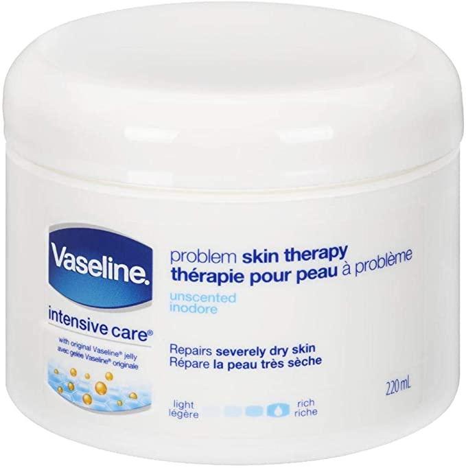 Vaseline Problem Skin Therapy Unscented