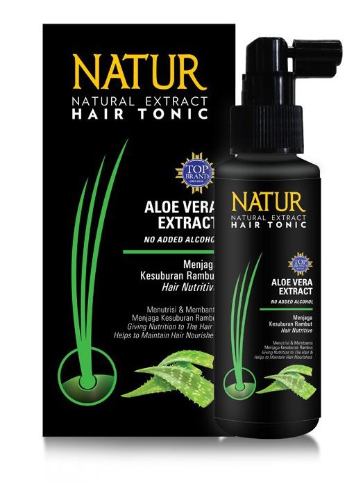 Natur Hair Tonic Aloe Vera Extract