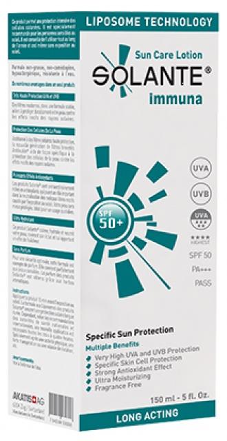 Solante Immuna SPF50+ Lotion