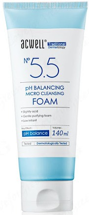 Acwell No 5.5 Ph Balancing Micro Cleansing Foam