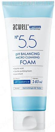 Acwell No 5.5 Ph Balancing Micro Cleansing Foam