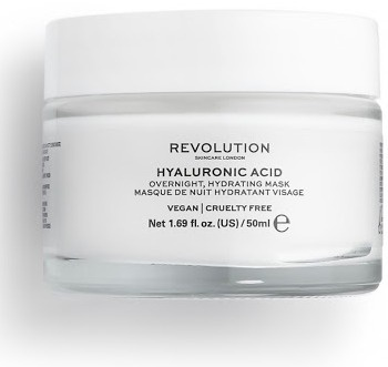 Revolution Beauty Hyaluronic Acid Overnight Hydration Face Mask