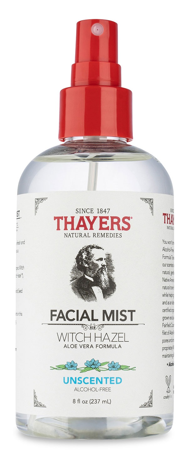 Thayers Alcohol-Free Witch Hazel Facial Mist Toner - Uncented