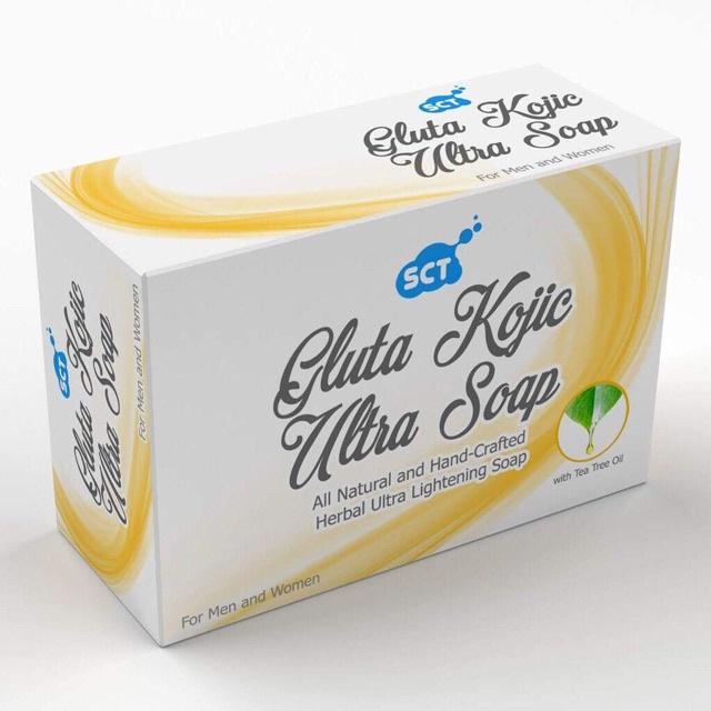 SCT Gluta Kojic Ultra Soap