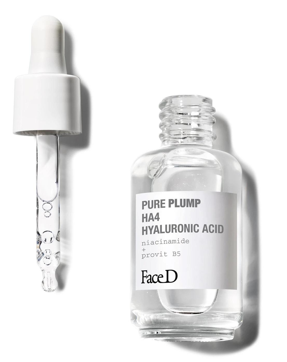 Face D Pure Plump Ha4 Acido Ialuronico