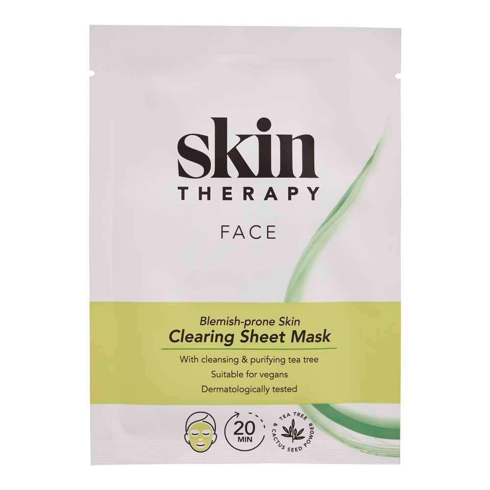 Skin Therapy Clearing Sheet Mask
