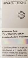 Creme de skin nutrition Hyaluronic Acid + Vitamin C