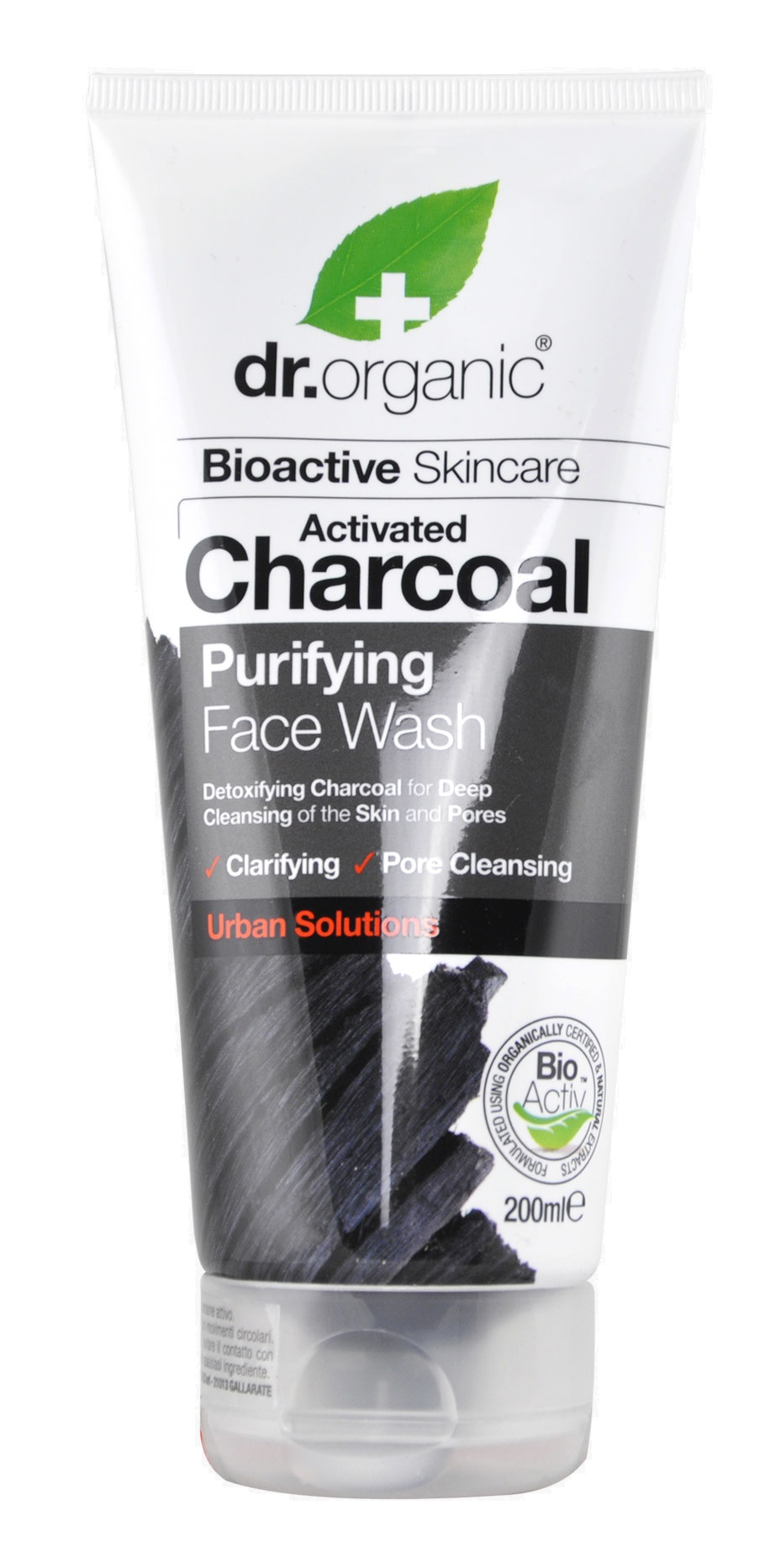 Dr Organic Activated Charcoal Purifying Face Wash
