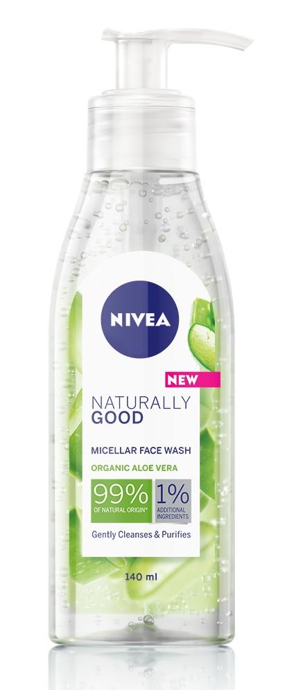 Nivea Naturally Good Micelar Gel