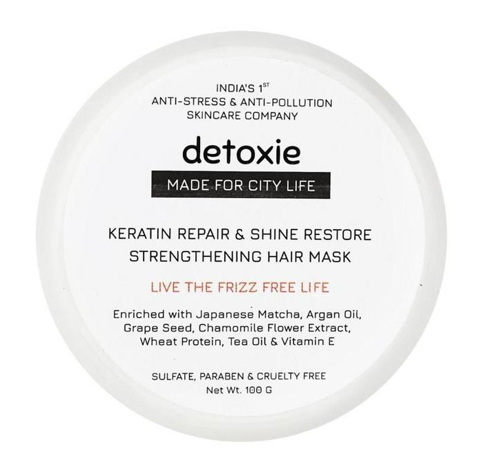Detoxie Keratin Repair & Shine Restore Strengthening Hair Mask
