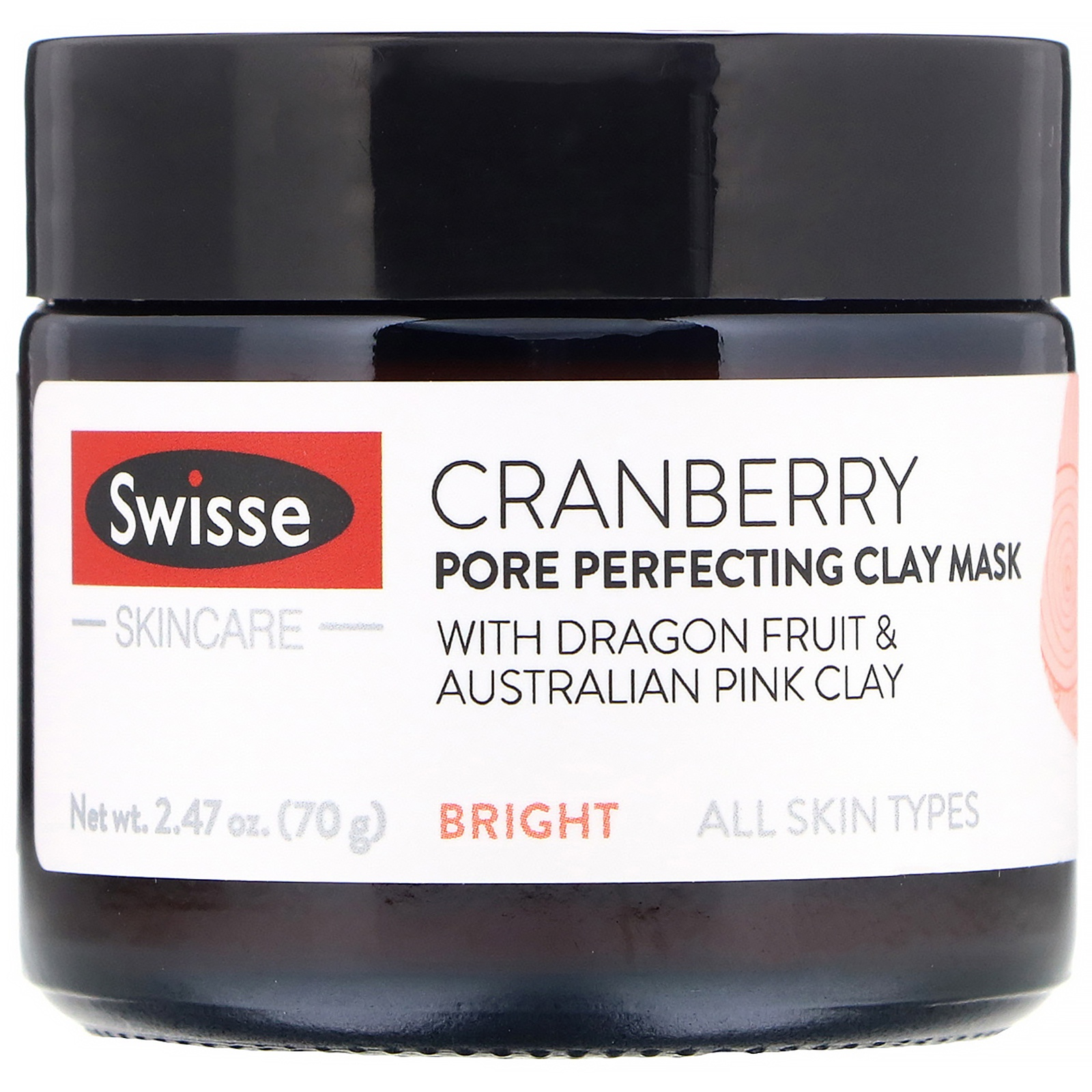 Swisse Skincare Cranberry Pore Perfecting Clay Mask