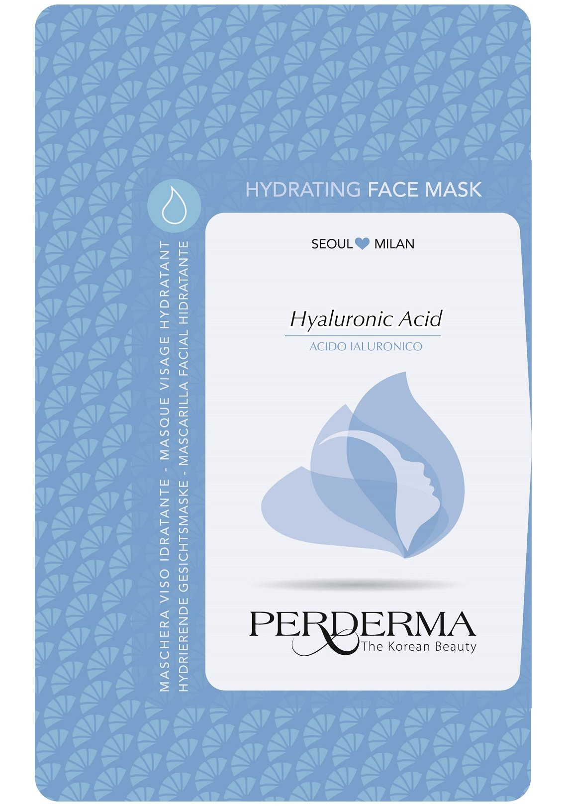 PERDERMA Moisturizing Face Mask With Hyaluronic Acid