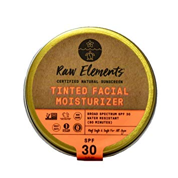 Raw Elements Tinted Face Moisturizer Spf 30