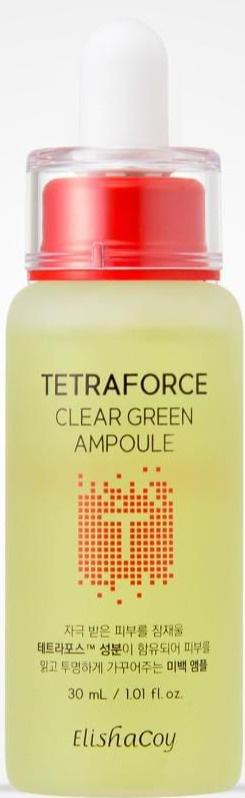 ElishaCoy Tetraforce Clear Green Ampoule