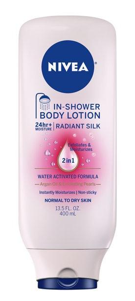 Nivea Radiant Silk In-Shower Body Lotion