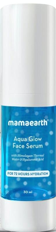 Mamaearth Aqua Glow Face Serum With Himalayan Thermal Water & Hyaluronic Acid