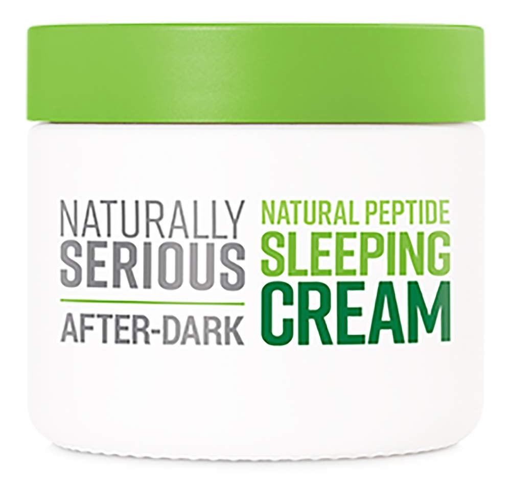Naturally Serious After-Dark Natural Peptide Sleeping Cream