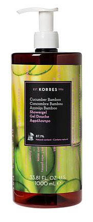 Korres Cucumber Bamboo Shower Gel