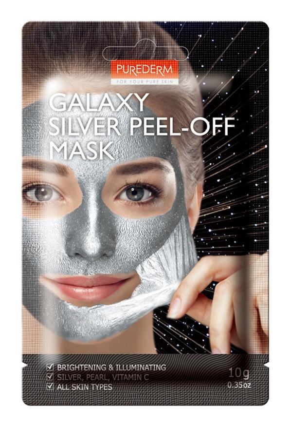 PUREDERM Galaxy Silver Peel-Off Mask