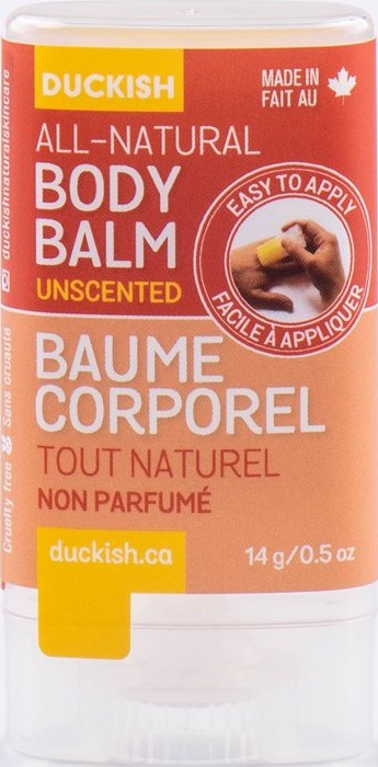 Duckish Natural All-natural Body Balm- Unscented