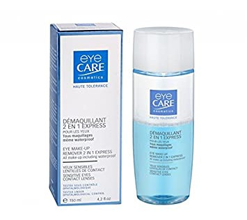 Eye Care Cosmetics  2 in 1 Eye Make Up Remover