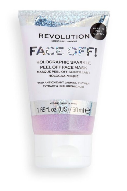 Revolution Skincare Face Off! Holographic Sparkle Peel Off Face Mask