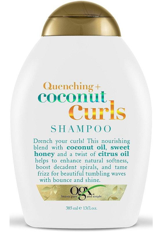 OGX Quenching+ Coconut Curls Ph Balanced Shampoo