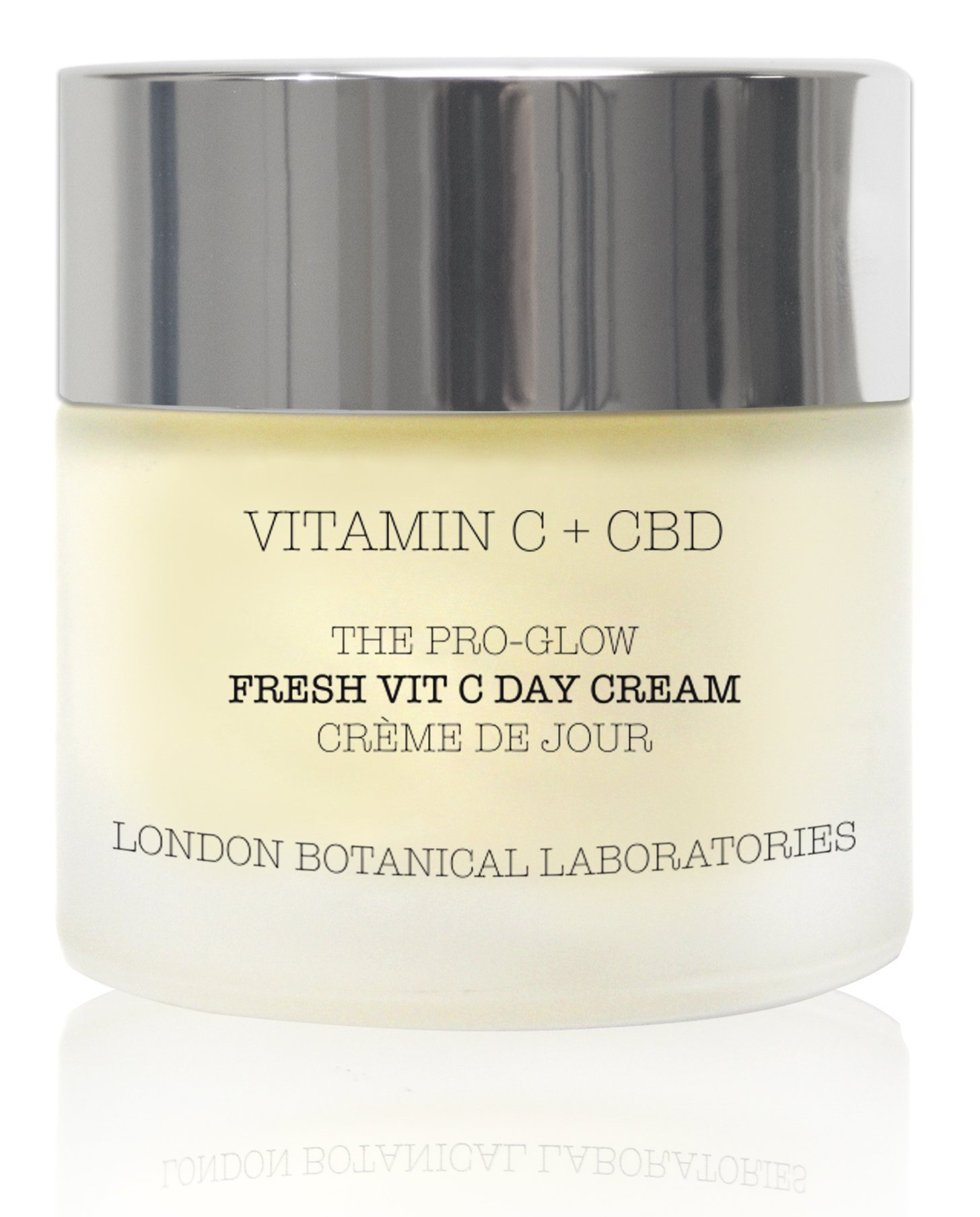 London Botanicals Laboratories Vitamin C + Cbd | The Pro-Glow Fresh Vit C Day Cream