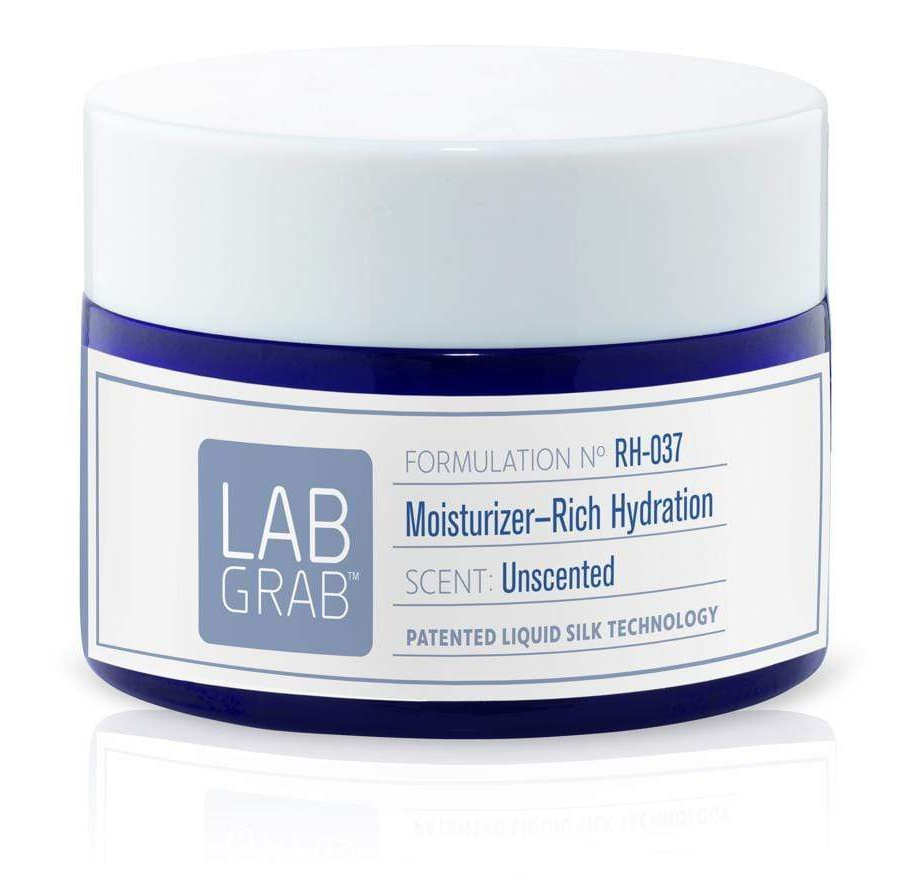 LabGrab Silk therapeutics Unscented Moisturizer Rich Hydration