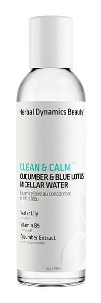 Herbal Dynamics Beauty CLEAN & CALM® CUCUMBER & BLUE LOTUS MICELLAR WATER