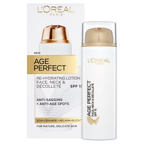 L'Oreal Paris Age Perfect Face, Neck & Decollete Lotion