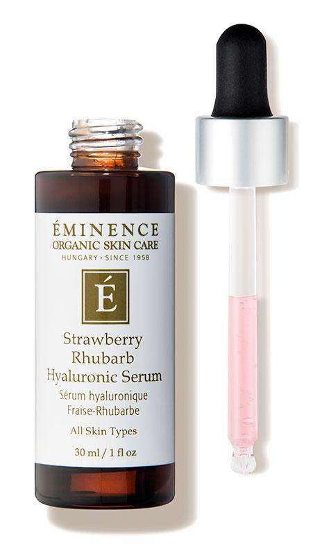 Eminence Organic Skin Care Strawberry Rhubarb Hyaluronic Serum