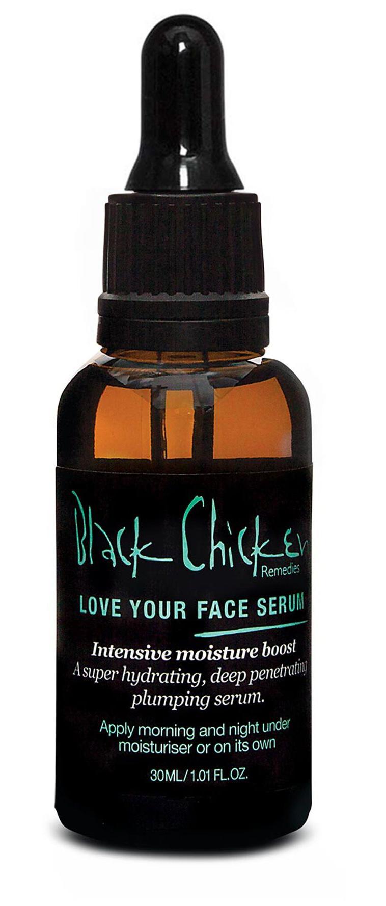 Black chicken Love Your Face Serum