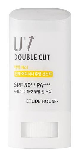 Etude House Uv Double Cut Clear Sun Stick Spf50+/Pa++++