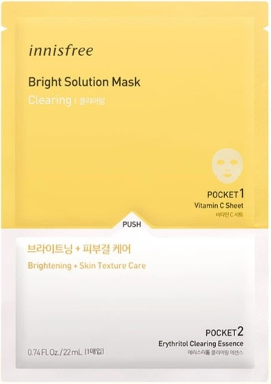 innisfree Bright Solution Mask [Clearing]