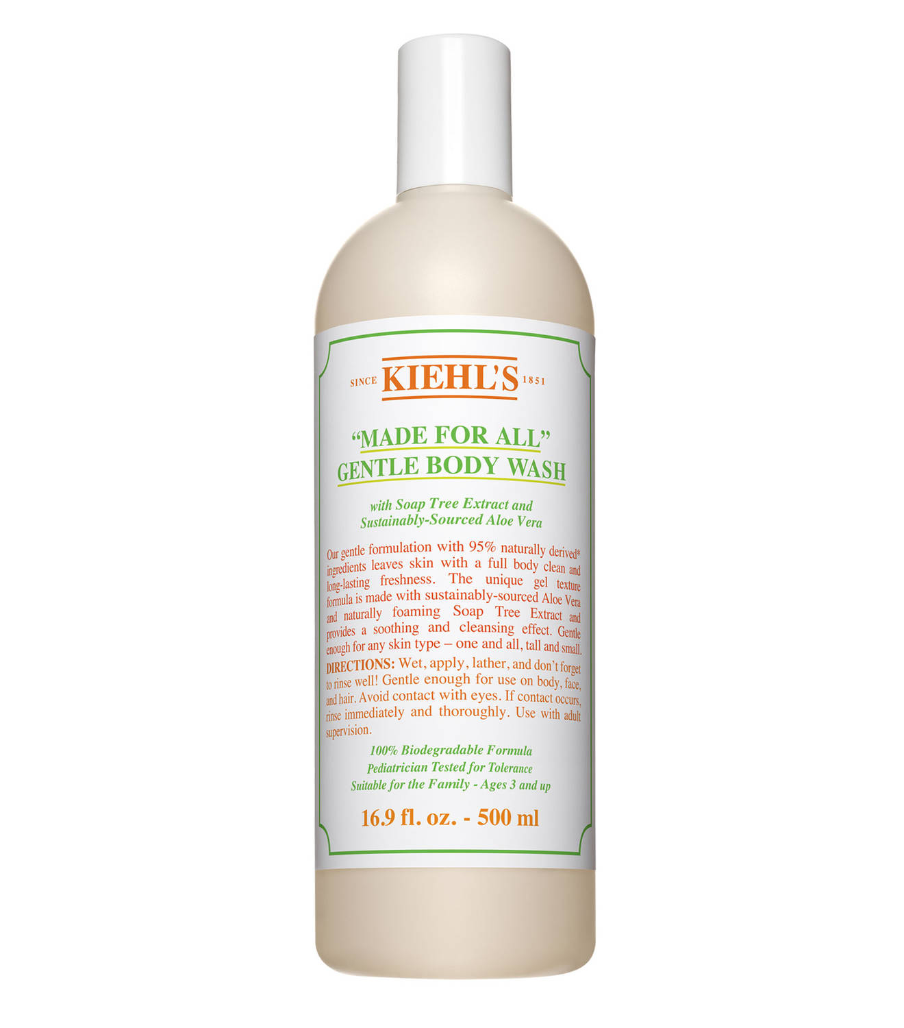 Kiehl's Made For All Gentle Body Cleanser