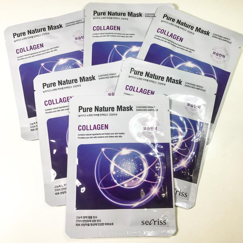 Secriss Pure Nature Sheet Mask Collagen