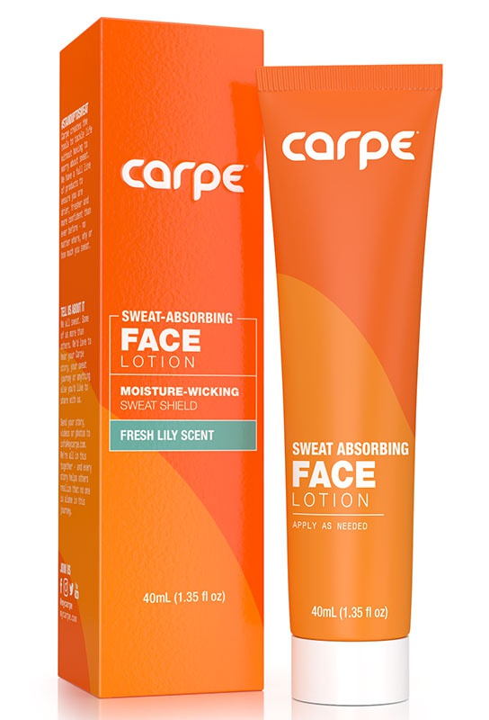 Carpe Sweat Absorbing Face Lotion