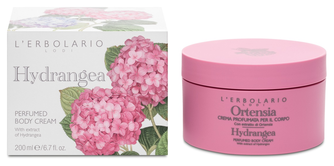 L'Erbolario Perfumed Body Cream Hydrangea
