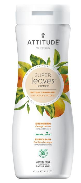 Attitude Energizing Orange Leaves Shower Gel