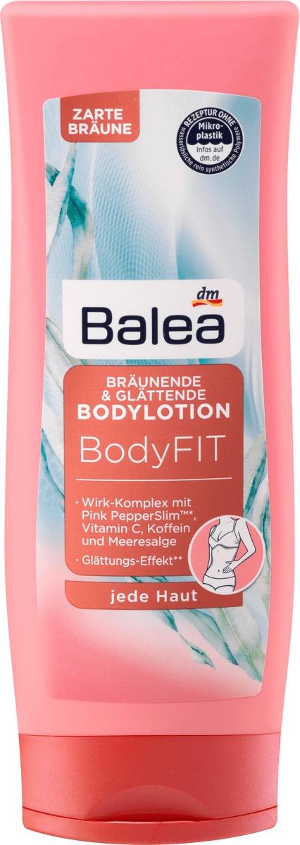 Balea Bodylotion Bodyfit Glättend Und Bräunend