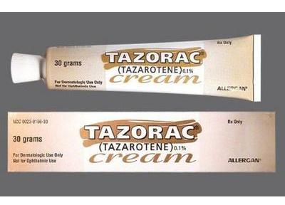 Tazorac 0.1% Cream