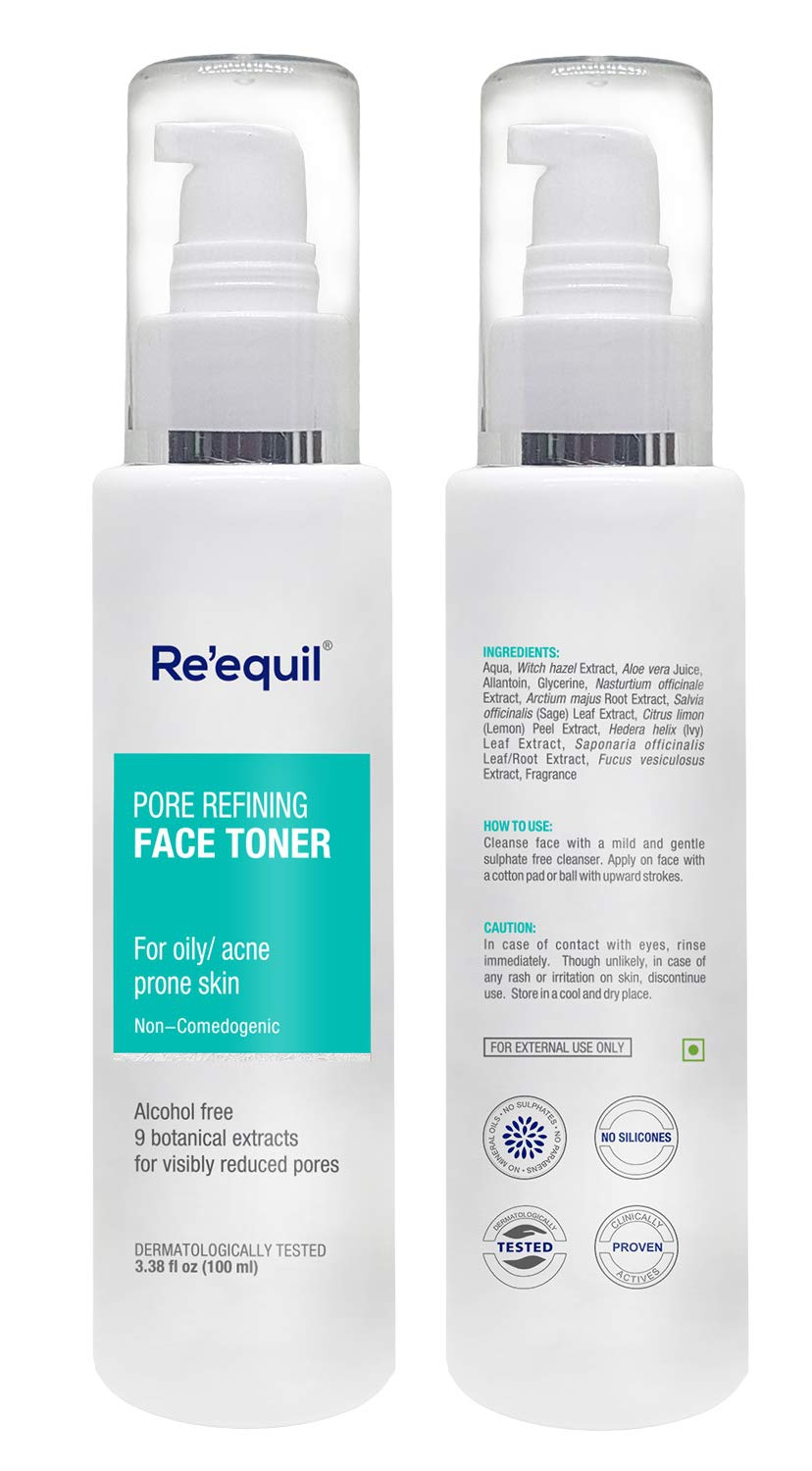 Re'equil Re'equil Pore Refining Face Toner