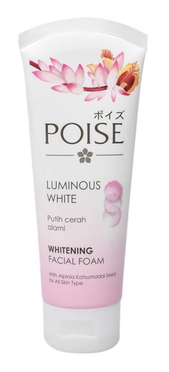 Poise Luminous Whitening Facial Foam